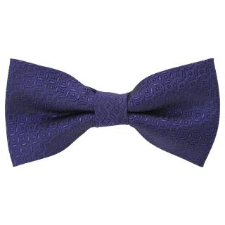 Галстук-бабочка #756 (фиолетовая зигзаг)