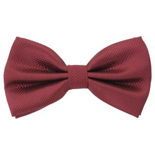 Купить галстук-бабочку вишневого цвета