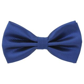 Купить галстук-бабочку цвета индиго