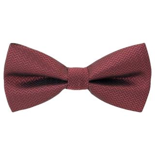 Купить галстук-бабочку бордового цвета