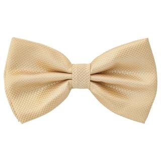Купить галстук-бабочку бежевого цвета