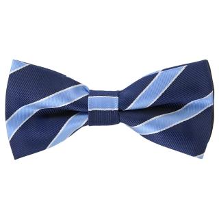 Купить галстук-бабочку синего цвета