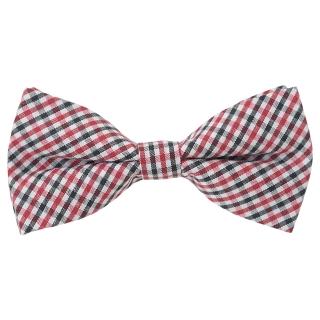 Купить детскую галстук-бабочку с принтом клетка
