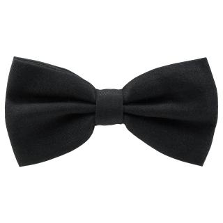 Купить черный галстук-бабочку