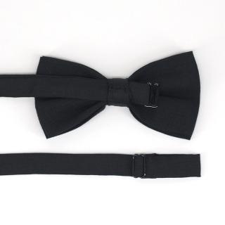 Черный классический галстук-бабочка
