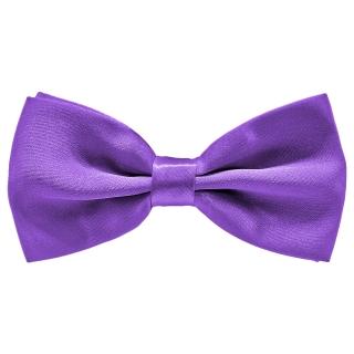 Галстук-бабочку фиолетового цвета