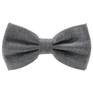 Купить серый галстук-бабочку