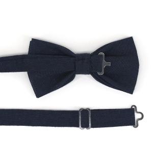 Купить темно-синюю галстук бабочку