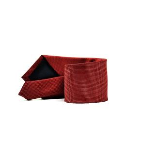 Мужской галстук бордового цвета