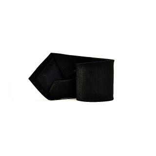 Мужской галстук черного цвета