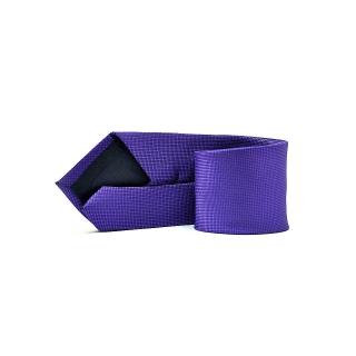 Мужской галстук фиолетового цвета