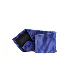 Мужской галстук фиолетового цвета в точку