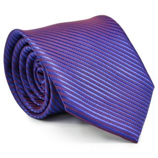 Галстук #205 (фиолетовый в полоску)