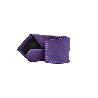 Мужской галстук фиолетового цвета в полоску