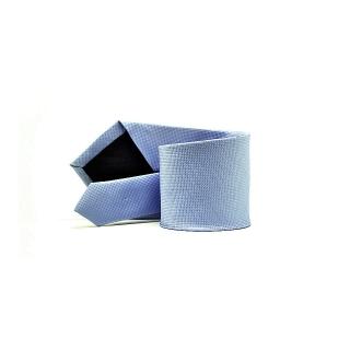 Мужской галстук голубого цвета