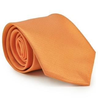 Галстук оранжевого цвета
