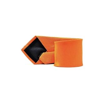 Мужской галстук оранжевого цвета
