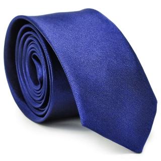 Галстук синего цвета