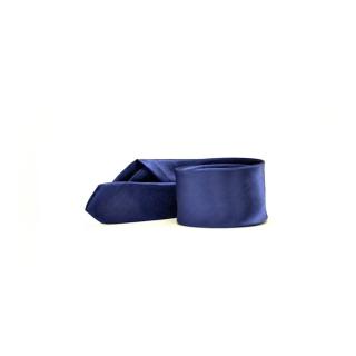 Мужской галстук синего цвета