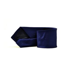 Мужской галстук темно-синего цвета