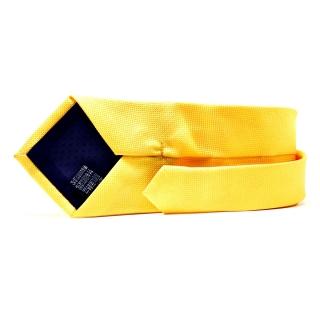 Мужской галстук желтого цвета