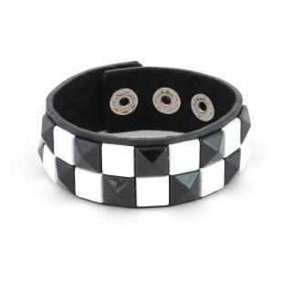 Кожаный браслет #012