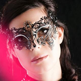 Венецианская маска #001 (Pavoncella)