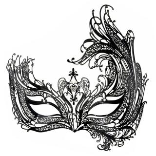Купить Luna Veneziana кружевная маска