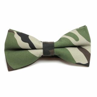 Купить набор бабочка галстук платок камуфляжной текстуры