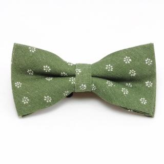 Купить зеленый набор галстук платок и бабочка