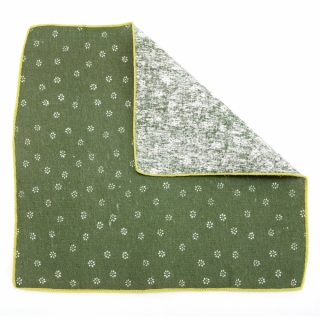 Набор из хлопка галстук бабочка и платок