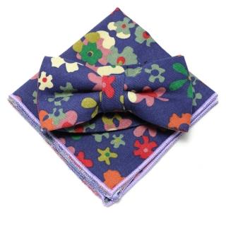 Набор из бабочки и платка камуфляжной расцветки