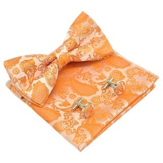 Набор аксессуаров #030 (оранжевый пейсли)