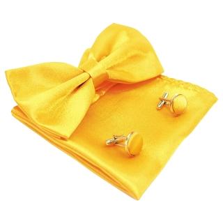 Набор аксессуаров желтого цвета