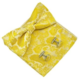 Набор аксессуаров #037 (желтый пейсли)