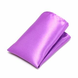 Фиолетовый платок в карман пиджака