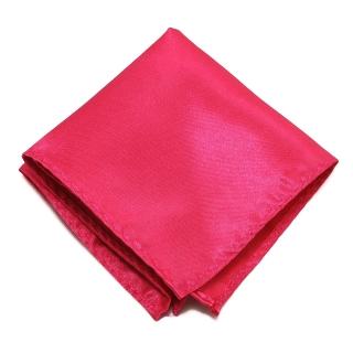 Розовый платок в карман пиджака