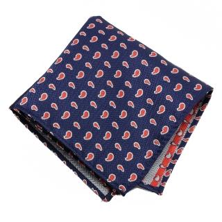 Нагрудный платок #021 (синий)