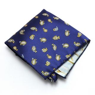 Нагрудный платок #025 (синий)