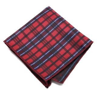 Красный клетчатый платок-паше