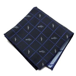 Купить темный музыкальный платок-паше