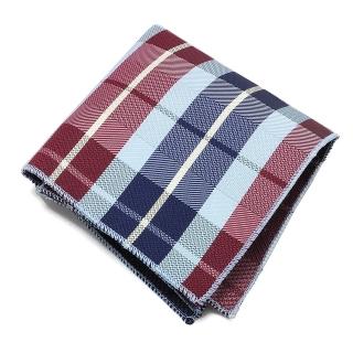 Сине-красный карманный платок