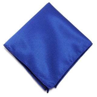 Сапфировый нагрудный платок для пиджака