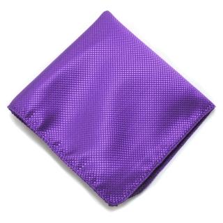 Фиолетовый карманный платочек