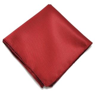 Бордовый нагрудный платок