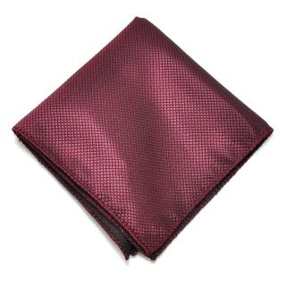Вишневый платок в карман пиджака