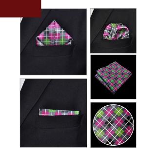 Клетчатый платок для пиджака