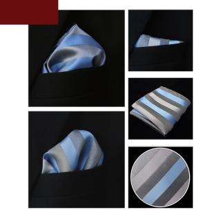 Купить полосатый серый платок паше