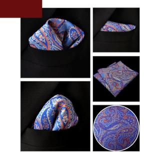 Нагрудный платочек для пиджака с узором