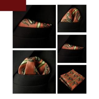 Оранжевый узорчатый платок паше